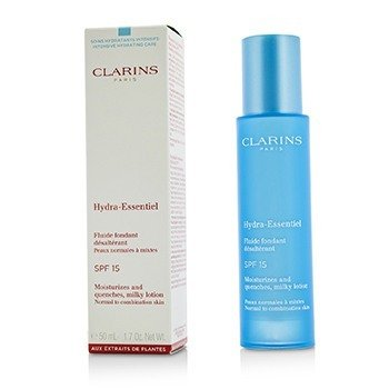 Clarins Hydra-Essentiel Moisturizes & Quenches Milky Lotion SPF 15 - Normal to Combination Skin
