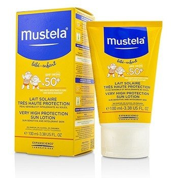 Mustela Very High Protection Sun Lotion SPF50+ - Sun Sensitive & Intolerant Skin