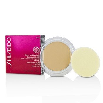 Shiseido Sheer & Perfect Compact Foundation SPF 21 (Refill) - # I00 Very Light Ivory
