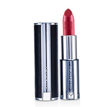 Givenchy Le Rouge Intense Color Sensuously Mat Lipstick - # 214 Rose Broderie (Genuine Leather Case)