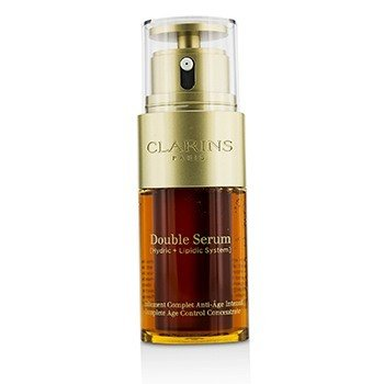 Clarins Double Serum (Hydric + Lipidic System) Complete Age Control Concentrate (Unboxed)