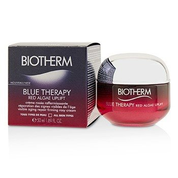 Biotherm Blue Therapy Red Algae Uplift Visible Aging Repair Firming Rosy Cream - All Skin Types