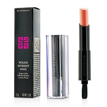 Givenchy Rouge Interdit Vinyl Extreme Shine Lipstick - # 02 Beige Indecent