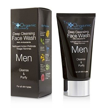 The Organic Pharmacy Men Deep Cleansing Face Wash - Cleanse & Purify