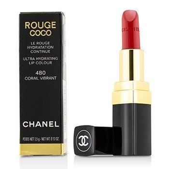 Chanel Rouge Coco Ultra Hydrating Lip Colour - # 480 Corail Vibrant
