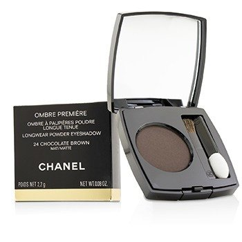 Chanel Ombre Premiere Longwear Powder Eyeshadow - # 24 Chocolate Brown (Matte)
