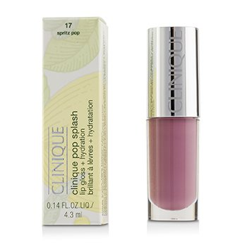 Clinique Pop Splash Lip Gloss + Hydration - # 17 Spritz Pop