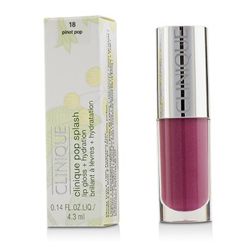 Clinique Pop Splash Lip Gloss + Hydration - # 18 Pinot Pop