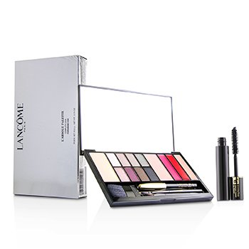 Lancome Labsolu Palette Complete Look - # Parisienne Chic (13x Shades, 1x Mini Eye Pencil, 1x Mini Mascara)