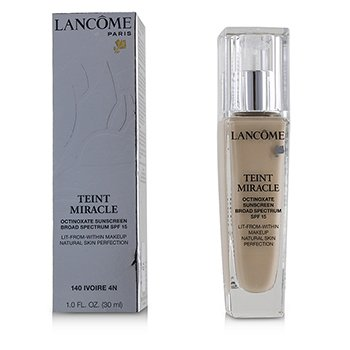 Lancome Teint Miracle Natural Skin Perfection SPF 15 - # 140 Ivoire 4N (US Version)