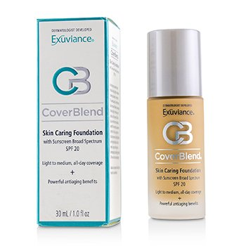 Exuviance CoverBlend Skin Caring Foundation SPF20 - # Golden Beige