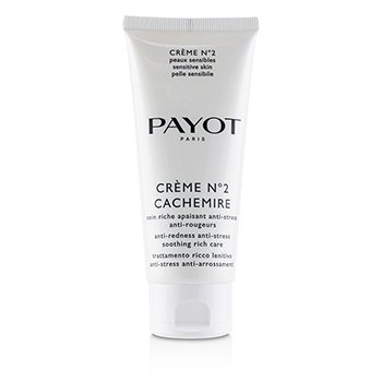 Payot Creme No 2 Cachemire Anti-Redness Anti-Stress Soothing Rich Care (Salon Size)
