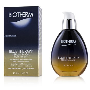 Biotherm Blue Therapy Serum-In-Oil Night - For All Skin Types