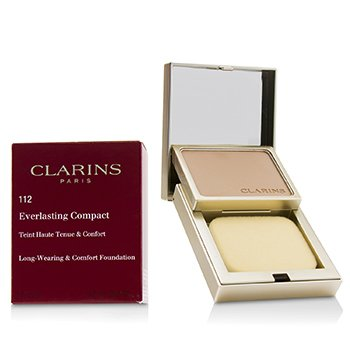 Clarins Everlasting Compact Foundation - # 112 Amber