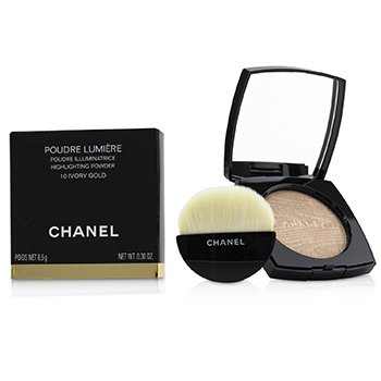 Chanel Poudre Lumiere Highlighting Powder - # 10 Ivory Gold