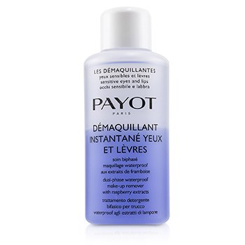 Payot Les Demaquillantes Demaquillant Instantane Yeux Dual-Phase Waterproof Make-Up Remover - For Sensitive Eyes (Salon Size)