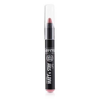 Lavera Natural Matt N Stay Lips - # 01 Mattn Rose