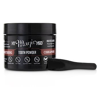 Activated Charcoal Whitening Tooth Powder - Cinnamon