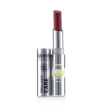 Lavera Brilliant Care Lipstick Q10 - # 07 Red Cherry
