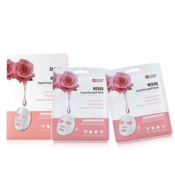 SNP Rose Supercharged Mask (Moisturizing)