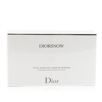 Christian Dior Diorsnow Brightening Collection: Milk Serum 30ml+ Micro-Infused Lotion 50ml+ UV Protection Fluid SPF50 30ml+ Pouch