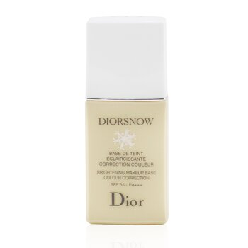 Christian Dior Diorsnow Brightening Makeup Base Colour Correction SPF35 - # Beige