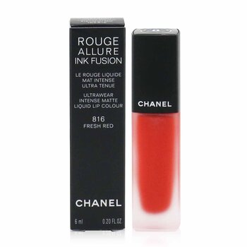 Chanel Rouge Allure Ink Fusion Ultrawear Intense Matte Liquid Lip Colour - # 816 Fresh Red