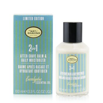 2 In 1 After-Shave Balm & Daily Moisturizer - Eucalyptus Essential Oil