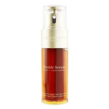 Clarins Double Serum (Hydric + Lipidic System) Complete Age Control Concentrate Duo Set
