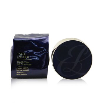 Estee Lauder Double Wear Soft Glow Matte Cushion Makeup SPF 45 With Extra Refill - # 1W2 Sand