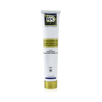 ROC Retinol Correxion Deep Wrinkle Daily Moisturizer With Sunscreen Broad Spectrum SPF 30