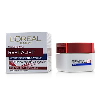 LOreal Dermo-Expertise RevitaLift Night Cream 8185 (Box Slightly Damaged)